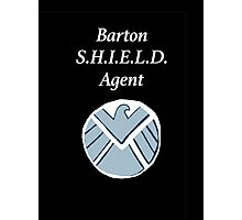 Barton SHIELD Agent Photographic Print
