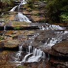 Falls at Katoomba by Karine Radcliffe