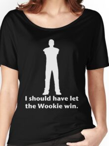 Let the Wookie win Women's Relaxed Fit T-Shirt