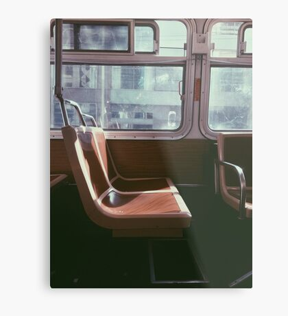 San Francisco Seat Metal Print
