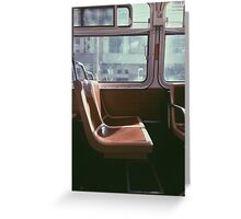 San Francisco Seat Greeting Card