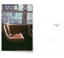 San Francisco Seat Postcards