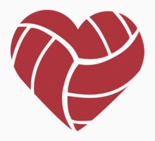 Volleyball Heart by Style-O-Mat