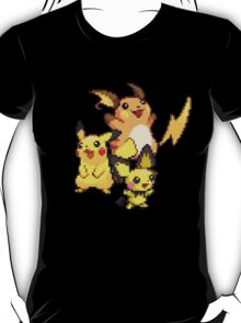 Pikachu Evolutions T-Shirt