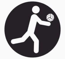 Volleyball Circle Logo by Style-O-Mat