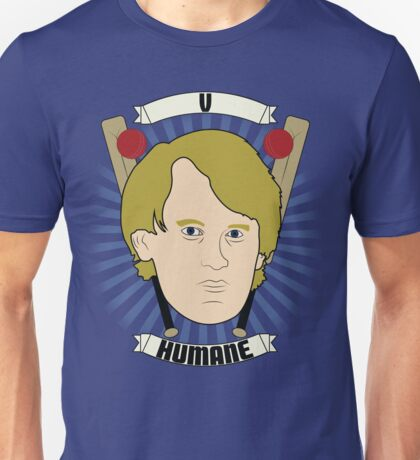 Doctor Who Portraits - Fifth Doctor - Humane Unisex T-Shirt