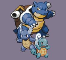 Squirtle Evolutions by Flaaffy