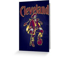 Captain Cleveland - Dark Greeting Card