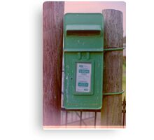 Irish Postbox Canvas Print