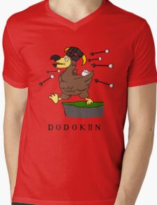 Dodokiin Mens V-Neck T-Shirt