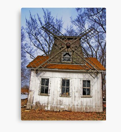 Long Island - East End North Fork Windmill Canvas Print