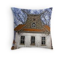 Long Island - East End North Fork Windmill Throw Pillow