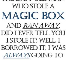 The Daft Old Man who Stole a Magic Box by FrizzyIzzy