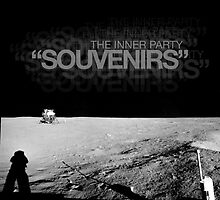 "The Inner Party - ""Souvenirs"" Single Cover (Digital Release) by Keith Miller"