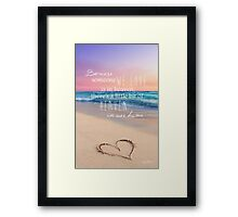 A Little Piece Of Heaven  Framed Print
