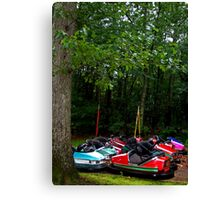 Enchanted Forest: Bumper Cars Canvas Print