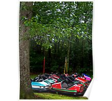 Enchanted Forest: Bumper Cars Poster
