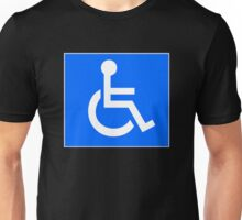 Disabled Access Symbol Unisex T-Shirt
