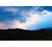 A Break in the Clouds Photographic Print