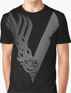 Medieval Restyling vikings silver gray Graphic T-Shirt
