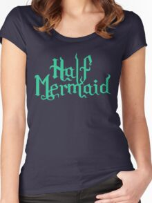 Half Mermaid Women's Fitted Scoop T-Shirt