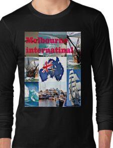 Melbourne International   Long Sleeve T-Shirt