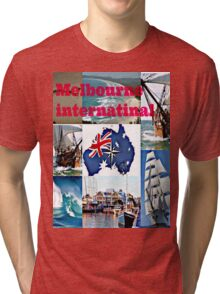 Melbourne International   Tri-blend T-Shirt
