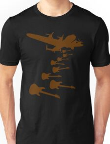 The Guitar Bomber Unisex T-Shirt