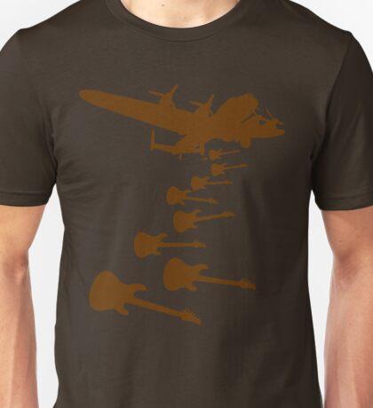 The Guitar Bomber Unisex T-Shirt