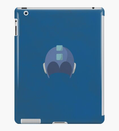 Cool Megaman Helmet Picture iPad Case/Skin