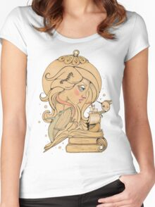 Song for the Blue Ocean Women's Fitted Scoop T-Shirt