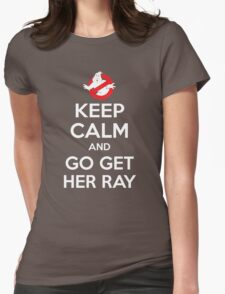 Go Get Her Ray Womens Fitted T-Shirt