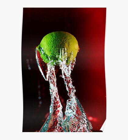 Water + Lemon Poster