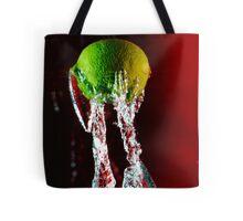 Water + Lemon Tote Bag