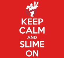 Keep Calm and Slime On One Piece - Short Sleeve
