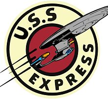 The U.S.S Express by TheHobbitHole