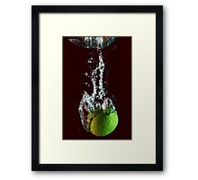 water + lemon 2 Framed Print