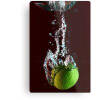 water + lemon 2 Metal Print