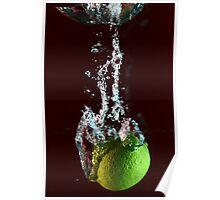 water + lemon 2 Poster
