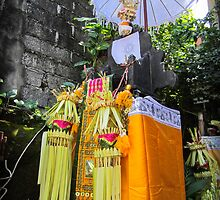 Balinese Shrine by jaymephoto