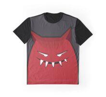 Black Red Devil Art Design  Graphic T-Shirt