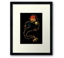 Jack 'O Rapper - Prints, Stickers, iPhone & iPad Cases Framed Print