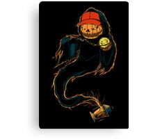 Jack 'O Rapper - Prints, Stickers, iPhone & iPad Cases Canvas Print