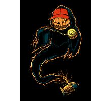 Jack 'O Rapper - Prints, Stickers, iPhone & iPad Cases Photographic Print