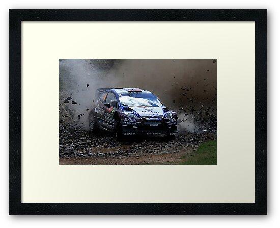 Mads Ostberg - World Rally Championship Australia - Sunday 2013 by Noel Elliot