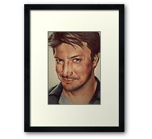 Richard Castle Framed Print