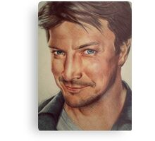 Richard Castle Metal Print