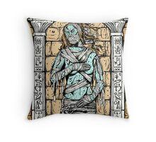 Mummy Venus Throw Pillow