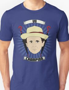 Doctor Who Portraits - Seventh Doctor - Champion T-Shirt