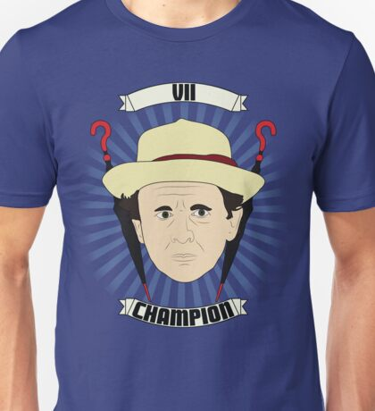 Doctor Who Portraits - Seventh Doctor - Champion Unisex T-Shirt
